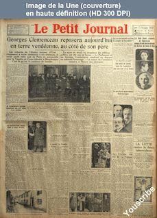 LE PETIT JOURNAL  numéro 24420 du 25 novembre 1929