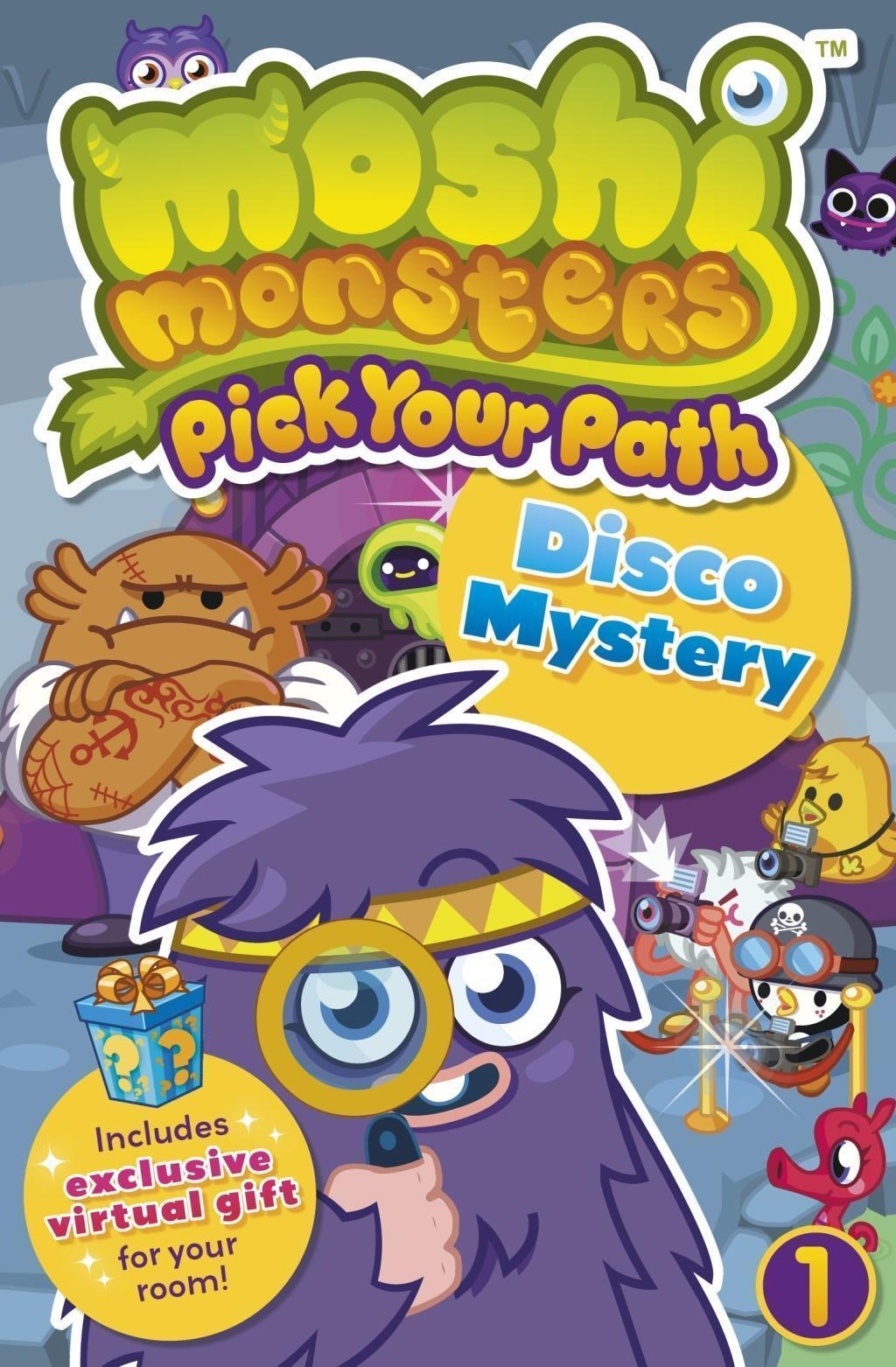 Moshi Monsters Pick Your Path 1: Disco Mystery