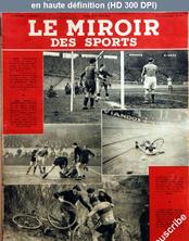 LE MIROIR DES SPORTS  numéro 84 du 22 février 1943