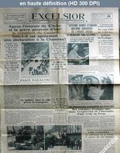 EXCELSIOR du 19 mars 1937