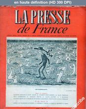LA PRESSE DE FRANCE  numéro 26 du 07 juin 1945