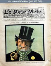 LE PELE MELE  numéro 51 du 22 décembre 1901