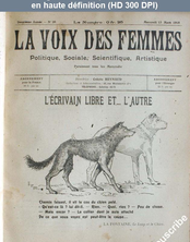 LA VOIX DES FEMMES  numéro 20 du 13 mars 1918