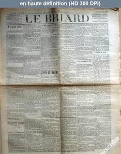 LE BRIARD  numéro 4 du 18 janvier 1908