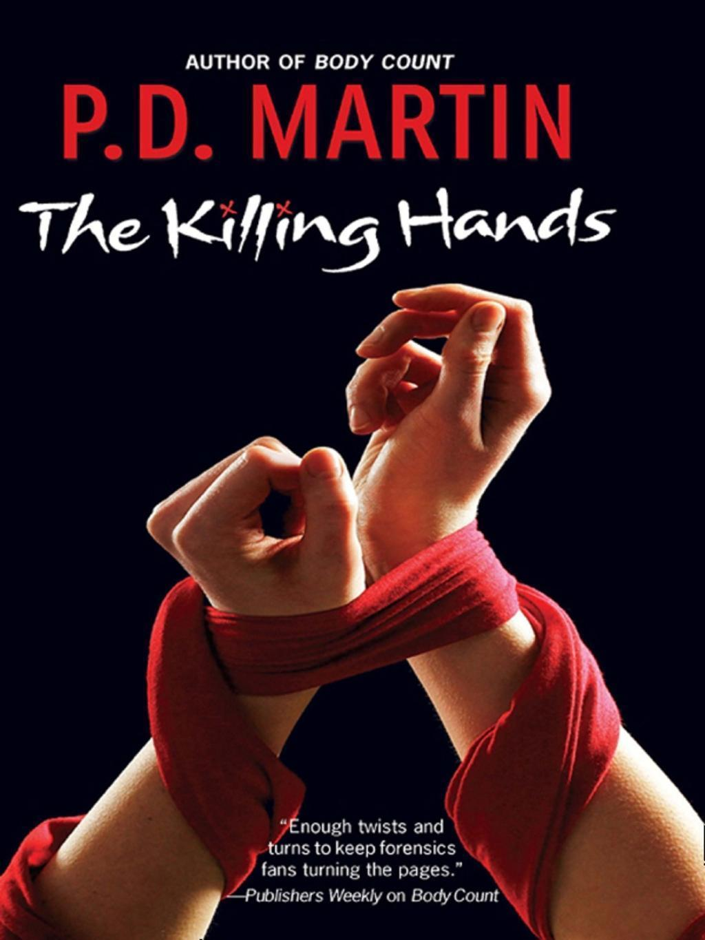 The Killing Hands (Mills & Boon M&B)