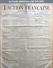L' ACTION FRANCAISE  numéro 354 du 19 septembre 1916