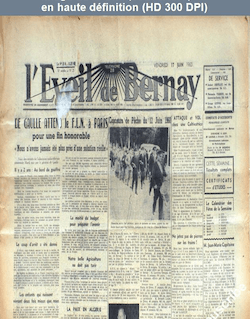 L' EVEIL DE BERNAY  numéro 25 du 17 juin 1960