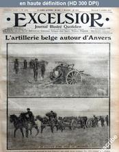 EXCELSIOR numéro 1422 du 07 octobre 1914