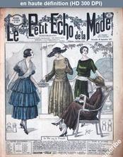 LE PETIT ECHO DE LA MODE  numéro 39 du 25 septembre 1921
