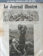 LE JOURNAL ILLUSTRE  numéro 27 du 06 juillet 1873