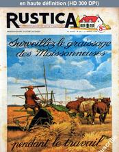 RUSTICA numéro 28 du 11 juillet 1948
