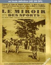 LE MIROIR DES SPORTS  numéro 436 du 06 juillet 1928
