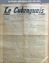LE CUBZAGUAIS  numéro 561 du 10 juillet 1933