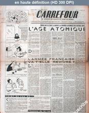 CARREFOUR numéro 73 du 10 janvier 1944