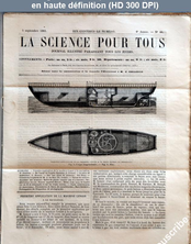 LA SCIENCE POUR TOUS  numéro 40 du 05 septembre 1861