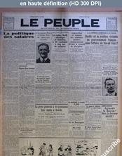 LE PEUPLE  numéro 3449 du 24 juin 1930