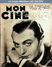 MON CINE ACTUALITES numéro 649 du 26 juillet 1934