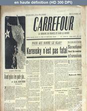 CARREFOUR numéro 121 du 12 décembre 1946