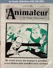 L' ANIMATEUR DES TEMPS NOUVEAUX  numéro 213 du 04 avril 1930