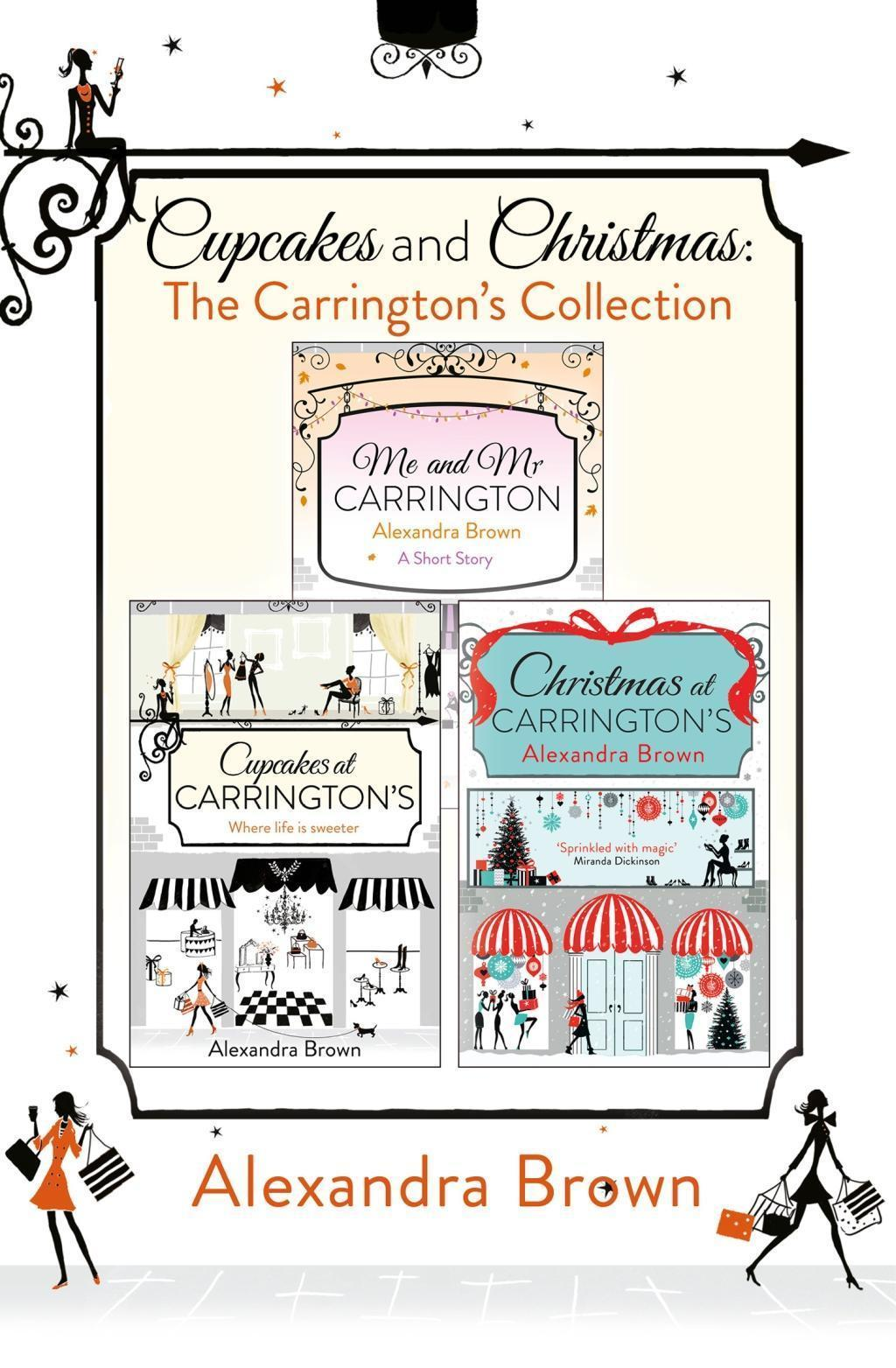 Cupcakes and Christmas: The Carrington's Collection: Cupcakes at Carrington's, Me and Mr. Carrington, Christmas at Carrington's