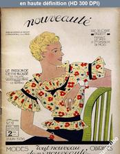 NOUVEAUTE numéro 12 du 21 juin 1936
