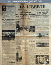 LA LIBERTE  numéro 25859 du 01 août 1934
