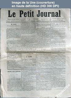LE PETIT JOURNAL  numéro 3067 du 28 mai 1871