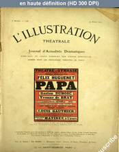 LA PETITE ILLUSTRATION THEATRE  numéro 178 du 29 avril 1911