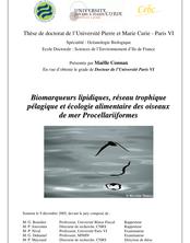 Thèse de doctorat de l'Université Pierre et Marie Curie ...