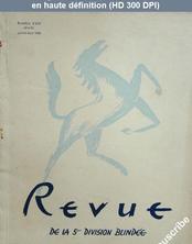 REVUE DE LA 5 EME DIVISION BLINDEE numéro 33 - 34 du 01 juillet 1948