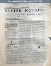 NANTES MONDAIN numéro 35 du 01 juillet 1900