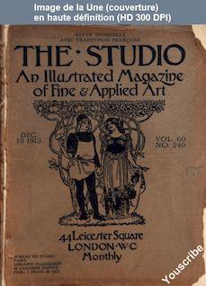 THE STUDIO  numéro 249 du 15 décembre 1913