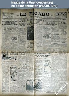 LE FIGARO  numéro 826 du 10 mai 1947