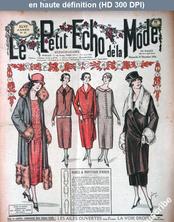LE PETIT ECHO DE LA MODE  numéro 51 du 21 décembre 1924