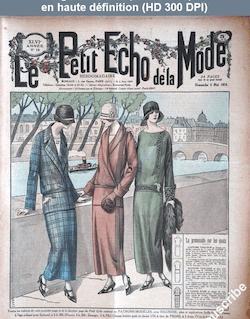 LE PETIT ECHO DE LA MODE  numéro 18 du 04 mai 1924