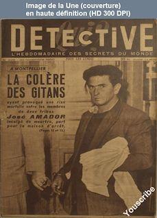 QUI DETECTIVE numéro 229 du 20 novembre 1950