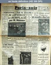 PARIS SOIR numéro 176 du 05 mai 1939
