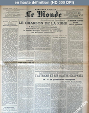 LE MONDE   numéro 484 du 13 juillet 1946