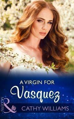 A Virgin For Vasquez (Mills & Boon Modern)