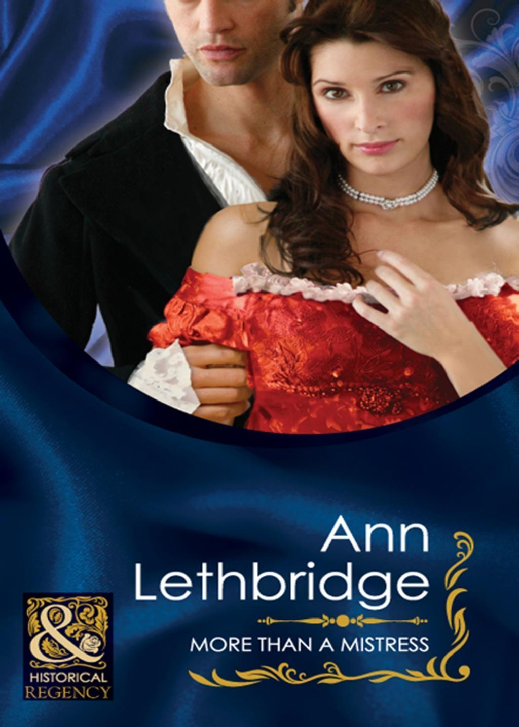 More Than a Mistress (Mills & Boon Historical)