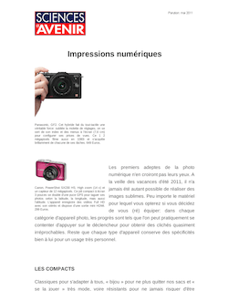 Impressions numériques