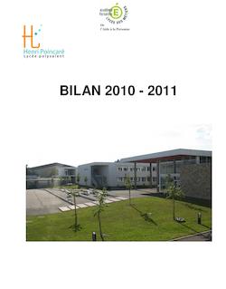 BILAN 2010 - 2011