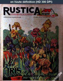 RUSTICA numéro 44 du 29 octobre 1950