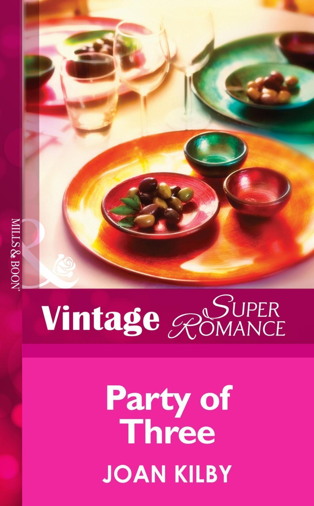 Party of Three (Mills & Boon Vintage Superromance) (Single Father, Book 13)