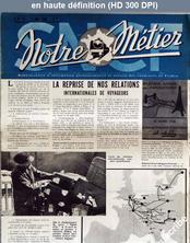 NOTRE METIER LA VIE DU RAIL numéro 57 du 03 mai 1946