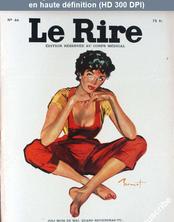 LE RIRE  numéro 44 du 01 mai 1955