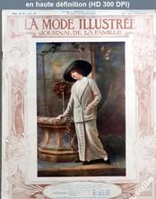 LA MODE ILLUSTREE  numéro 40 du 06 octobre 1912