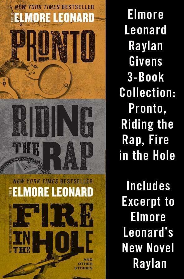 Elmore Leonard Raylan Givens 3-Book Collection