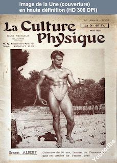 LA CULTURE PHYSIQUE  numéro 676 du 01 mai 1950