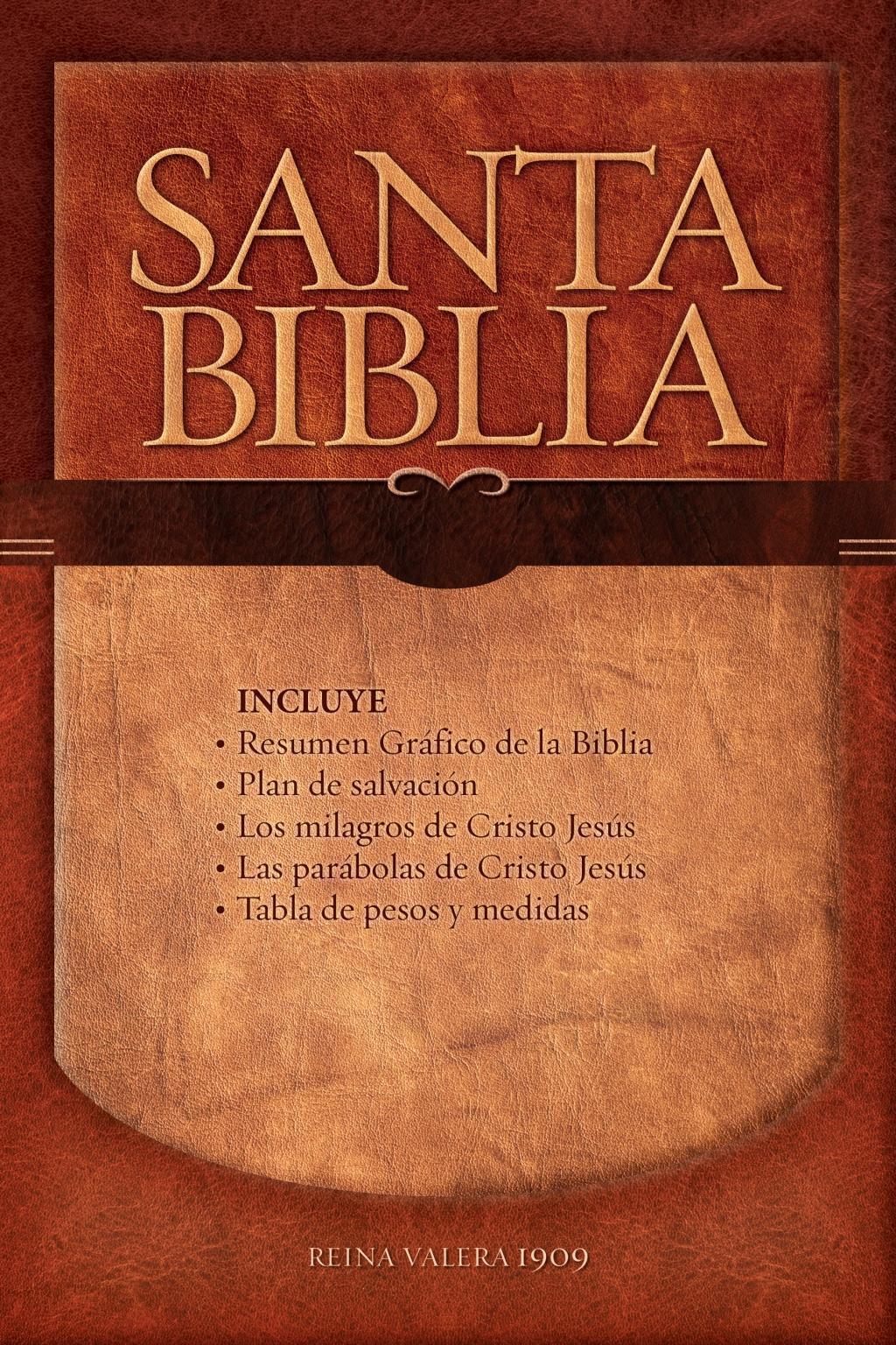 Biblia Letra Grande RV 1909